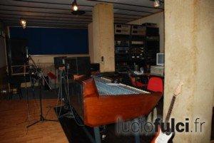 Le Titania Recording Studio où le trio Bixio-Frizzi-Tempera a enregistré  Les 4 de l'apocalypse et Sella d'Argento