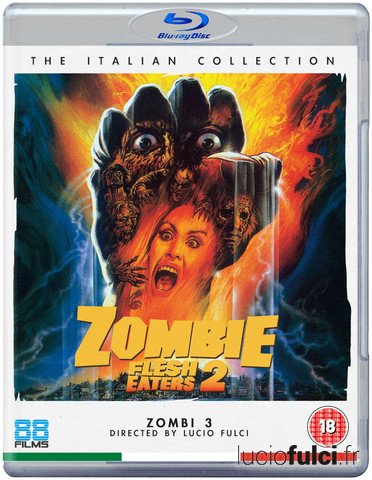Zombi 3 - Bluray UK