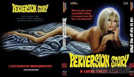 Jaquette Blu-ray de Perversion Story (Mondo Macabro)